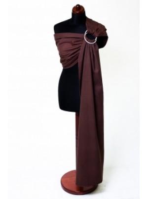 Ring Sling - 100% Cotton - Broken Twill Weave - Chestnut Size (2.1m)