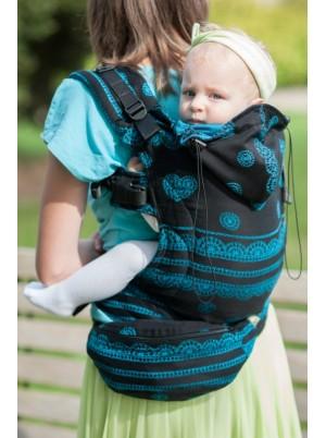 Ergonomic Carrier, Toddler Size, jacquard weave 100% cotton - wrap conversion from DIVINE LACE - Second Generation