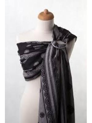 Ringsling, Jacquard Weave (100% cotton) - Glamorous Lace Size (2.1m)