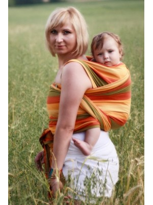 Baby Wrap, Jacquard Weave (100% cotton) - SUMMER - size M (4.6m)